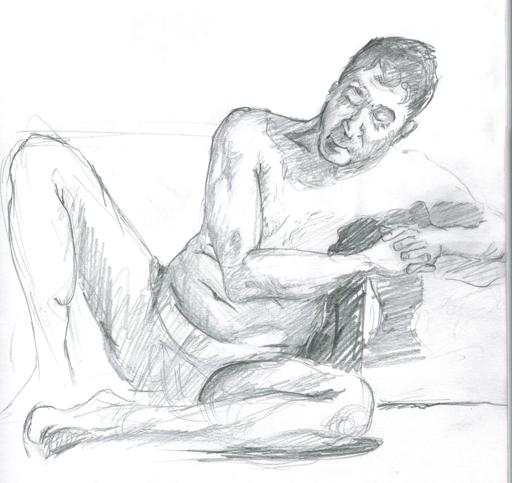 Life Drawing at Del Ray in March