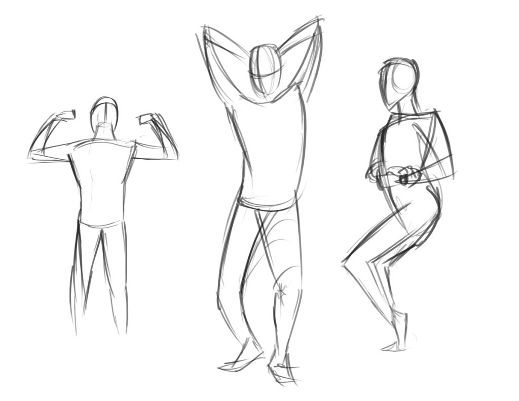 Figure Drawings and Practice