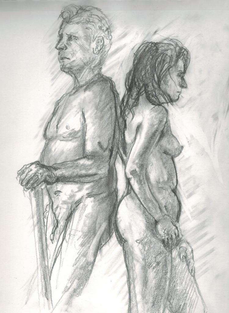 Life Drawing 5.13.15