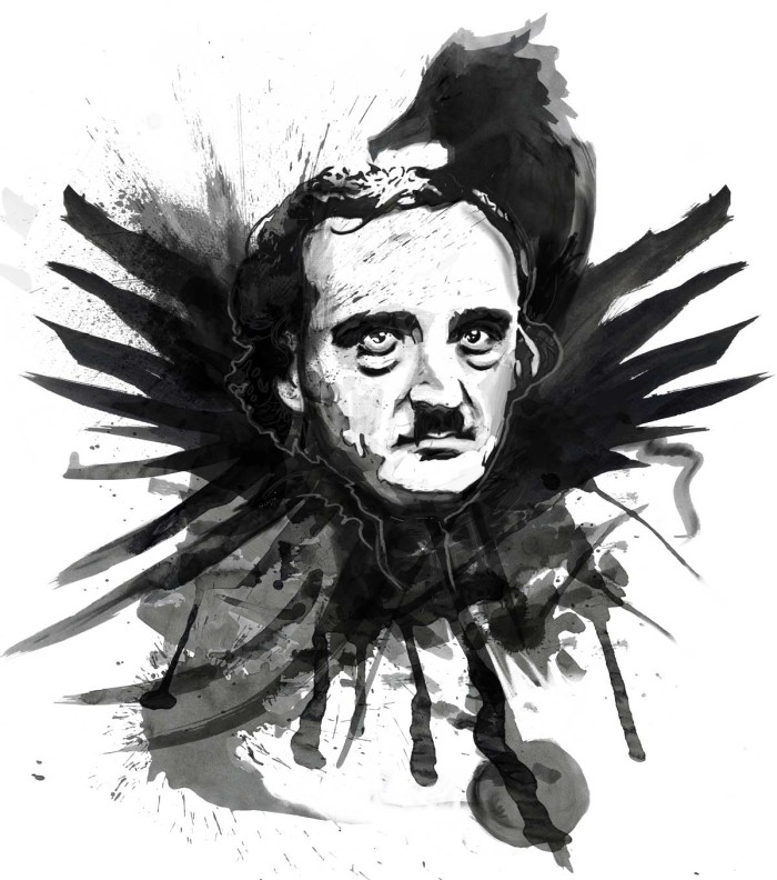 Prints for Sale: Edgar Allen Poe's Inkwell